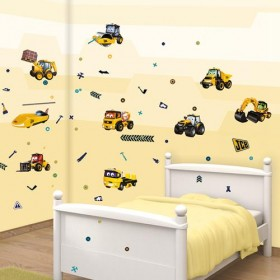 Kit Decor Walltastic - My first JCB
