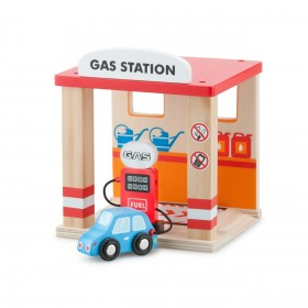 Benzinarie si o masina - New Classic Toys