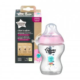 Biberon 340 ml decorat Tommee Tippee Closer To Nature PP