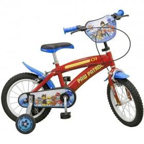 """Bicicleta 14"""" Paw Patrol - Toimsa"""