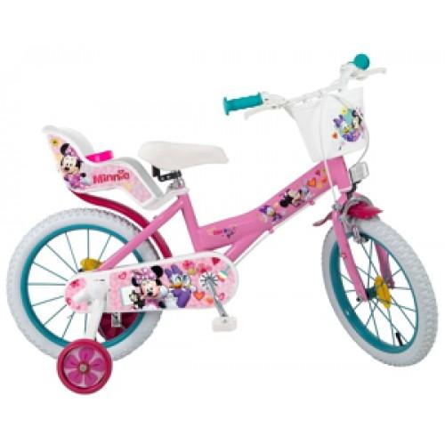 """Bicicleta 16"""" Minnie Mouse - fete - Toimsa"""