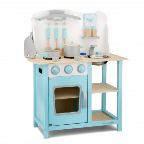 Bucatarie Bon appetit Albastru - New Classic Toys