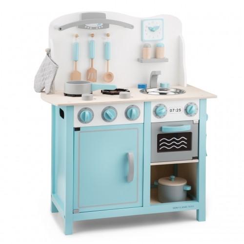 Bucatarie Bon appetit Deluxe Albastru - New Classic Toys