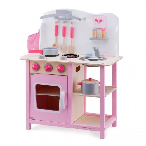 Bucatarie Bon appetit Roz - New Classic Toys