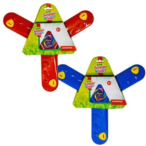 Bumerang Tri Summertime cu 3 brate, 34 cm