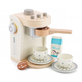Cafetiera - Alb - New Classic Toys