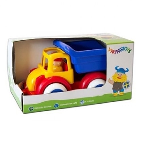 Camion Autobasculanta cu 2 figurine - Jumbo - Viking Toys