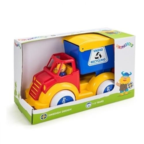 Camion Gunoi cu 2 figurine - Super - Viking Toys