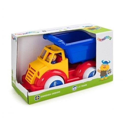 Camion cu 2 figurine - Super - Viking Toys