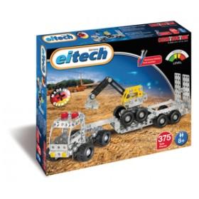 Camion cu remorca si excavator - Eitech