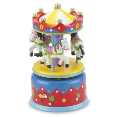 Carusel muzical multicolor - New Classic Toys