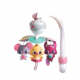 Carusel muzical portabil Tiny Princess Tales, Ia-ma cu tine - Tiny Love