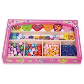 Caseta din lemn cu bijuterii New Classic Toys