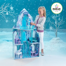 Casuta pentru papusi Castelul de Gheata Frozen - KidKraft