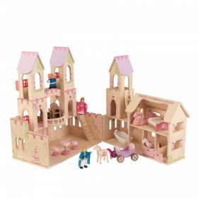 Casuta pentru papusi Princess Castle KidKraft