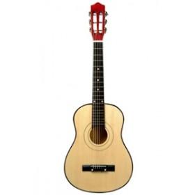 Chitara mare lemn natur New Classic Toys