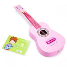 Chitara roz - New Classic Toys