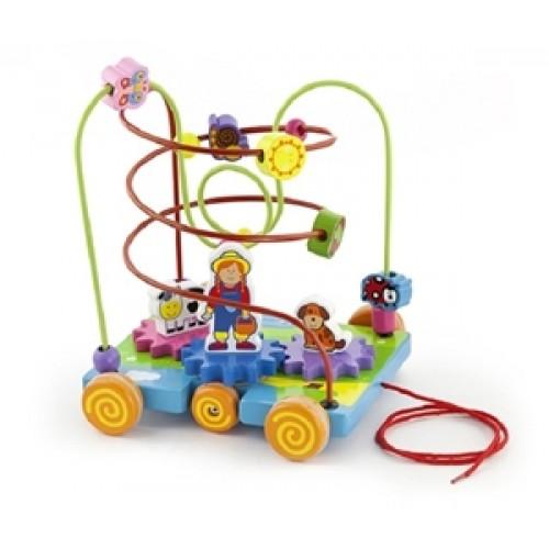 Circuit cu activitati FERMA - New Classic Toys