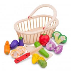 Cos cu legume - New Classic Toys
