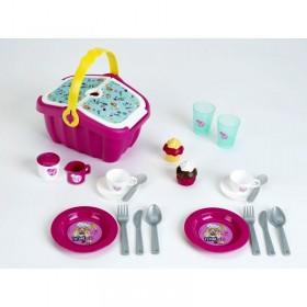 Cos picnic Barbie cu accesorii - Klein