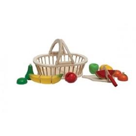 Cosulet cu fructe New Classic Toys