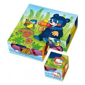 Cuburi cu ursuleti - joc educativ Bino
