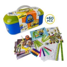 Cutie activitati 60 piese Minions - D`Arpeje