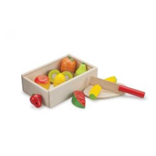 Cutie cu fructe New Classic Toys