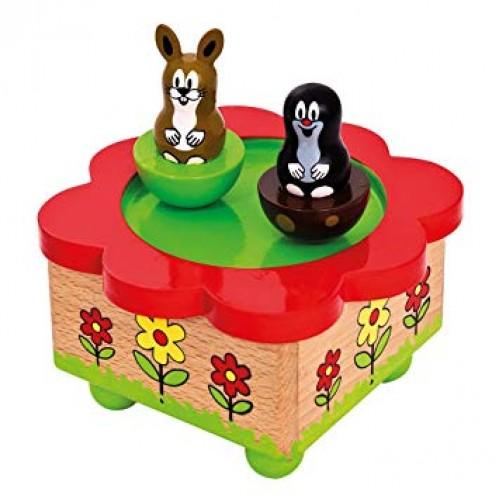 Cutie muzicala magnetica - Little Mole - Bino