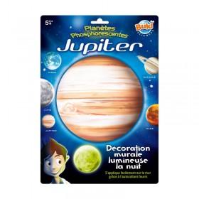 Decoratiuni de perete fosforescente - Planeta Jupiter - Buki
