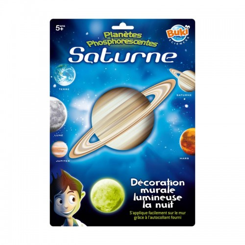 Decoratiuni de perete fosforescente - Planeta Saturn - Buki