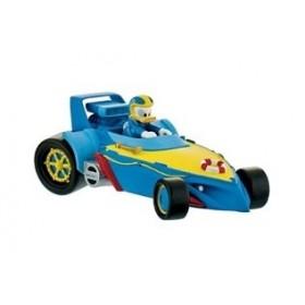 Donald cu masina - Mickey si pilotii de curse - Bullyland