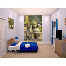 Tapet pentru copii Shrek - Walltastic