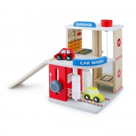 Garaj cu spalatorie si 2 masini - New Classic Toys