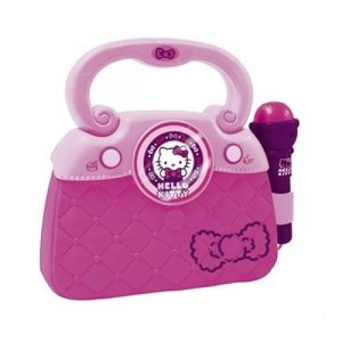 Geanta cu microfon si amplificator Hello Kitty - new - Reig Musicales