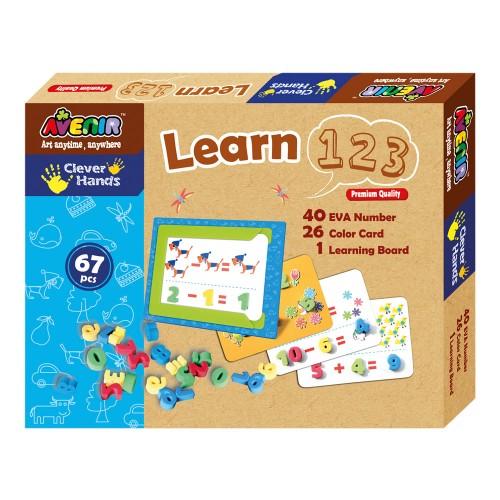 Joc creativ - Invata numerele - Avenir