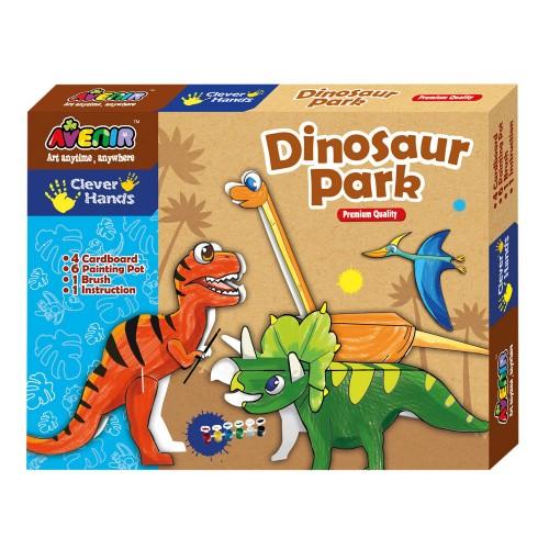 Joc creativ de colorat - Dinozauri - Avenir