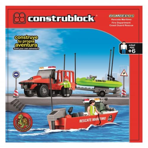 Joc de constructie - Garda de coasta - Construblock