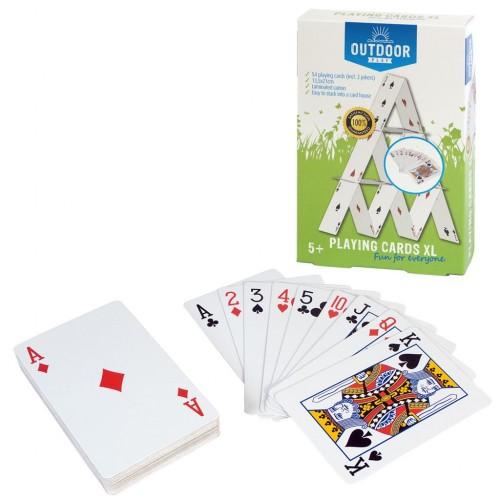 Joc de exterior - joc de carti XL (gigant) - Outdoor Play