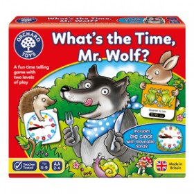 Joc de societate Cat Este Ceasul Domnule Lup - WHAT'S THE TIME MR WOLF - Orchard Toys