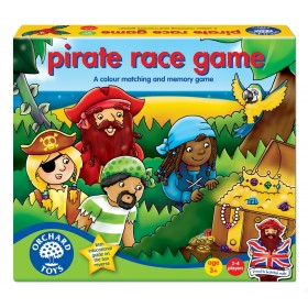 Joc de societate - Cursa piratilor - PIRATE RACE - Orchard Toys