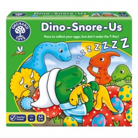 Joc de societate Dinozauri care Sforaie - DINO-SNORE-US - Orchard Toys