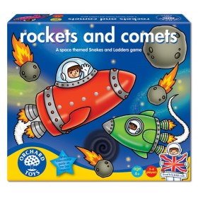 Joc de societate - Rachete si comete - ROCKETS AND COMETS - Orchard Toys