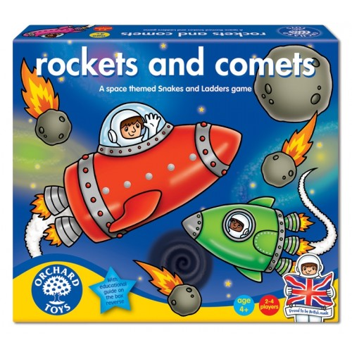 Joc de societate - Rachete si comete - ROCKETS AND COMETS - Orchard Toys