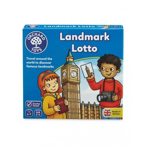 Joc educativ Atractii Turistice Landmark Lotto - Orchard Toys