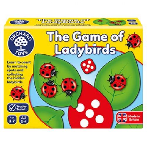 Joc educativ Buburuzele - Ladybirds - Orchard Toys