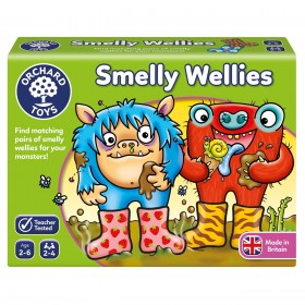 Joc educativ Cizmulitele de Cauciuc - Smelly Wellies - Orchard Toys