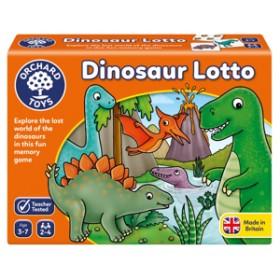 Joc educativ Dinozaur - DINOSAUR LOTTO - Orchard Toys