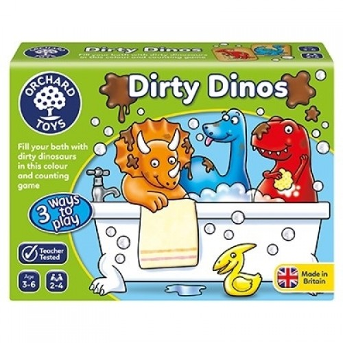 Joc educativ Dinozauri Murdari DIRTY DINOS - Orchard Toys