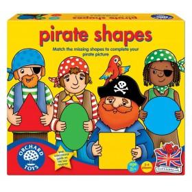 Joc educativ Formele piratilor - Pirate Shapes - Orchard Toys